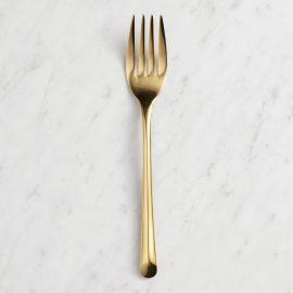 Gold Wave Salad Forks Set of 4 by World Market