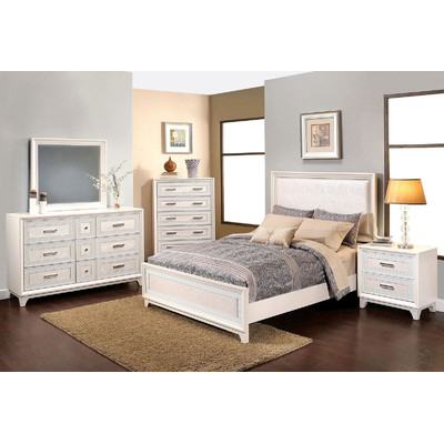 Antoinette Platform 5 Piece Bedroom Set
