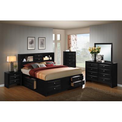 Blemerey Platform 5 Piece Bedroom Set Size: King