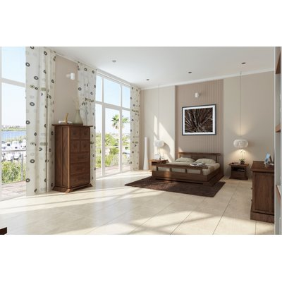 Cecere Platform 3 Piece Configurable Bedroom Set Size: California King