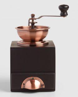 Copper Vintage Style Burr Coffee Grinder by World Market