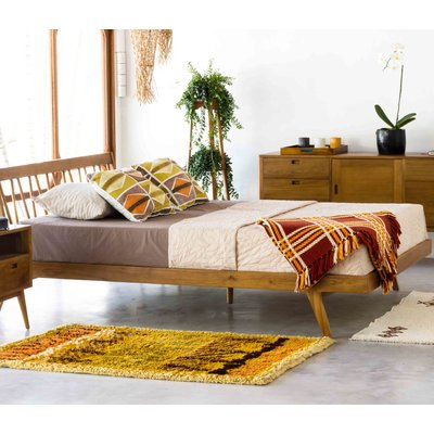 Fifties Platform 3 Piece Bedroom Set Size: King