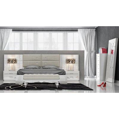 Knorr Panel 5 Piece Bedroom Set Size: Queen