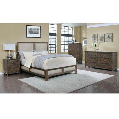 Loken Platform 4 Piece Bedroom Set Size: King