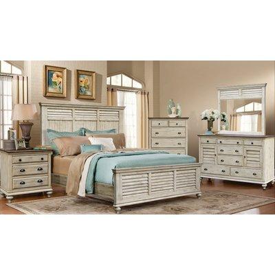 Manna Panel 5 Piece Bedroom Set Size: King