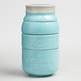 Mason Jar Measuring Cups: Blue by World Market
