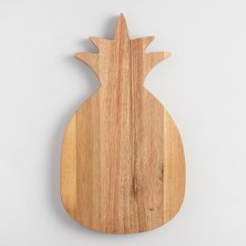 Pineapple Acacia Wood Cutting Board by World Market