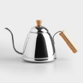 Stainless Steel Gooseneck Pour Over Kettle by World Market