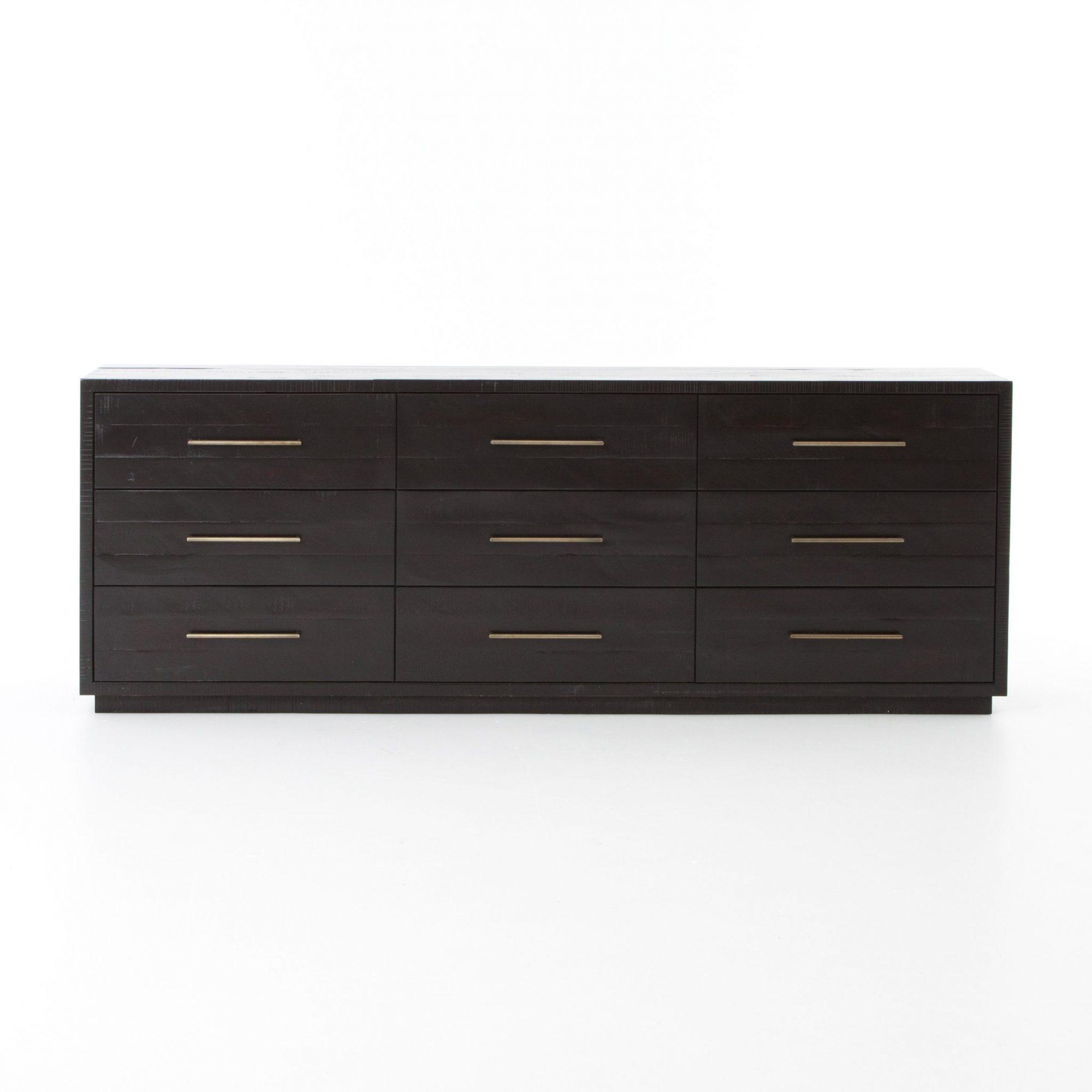 Suki 9 Drawer Dresser in Burnished Black