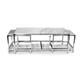 The Svendborg 3 Piece Coffee Table Set