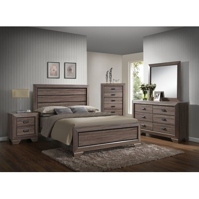 Weldy Panel Configurable Bedroom Set