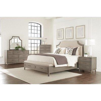 Workman Upholstery Storage Panel Configurable Bedroom Set