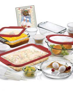 Anchor Hocking 32-piece Bakeware Set