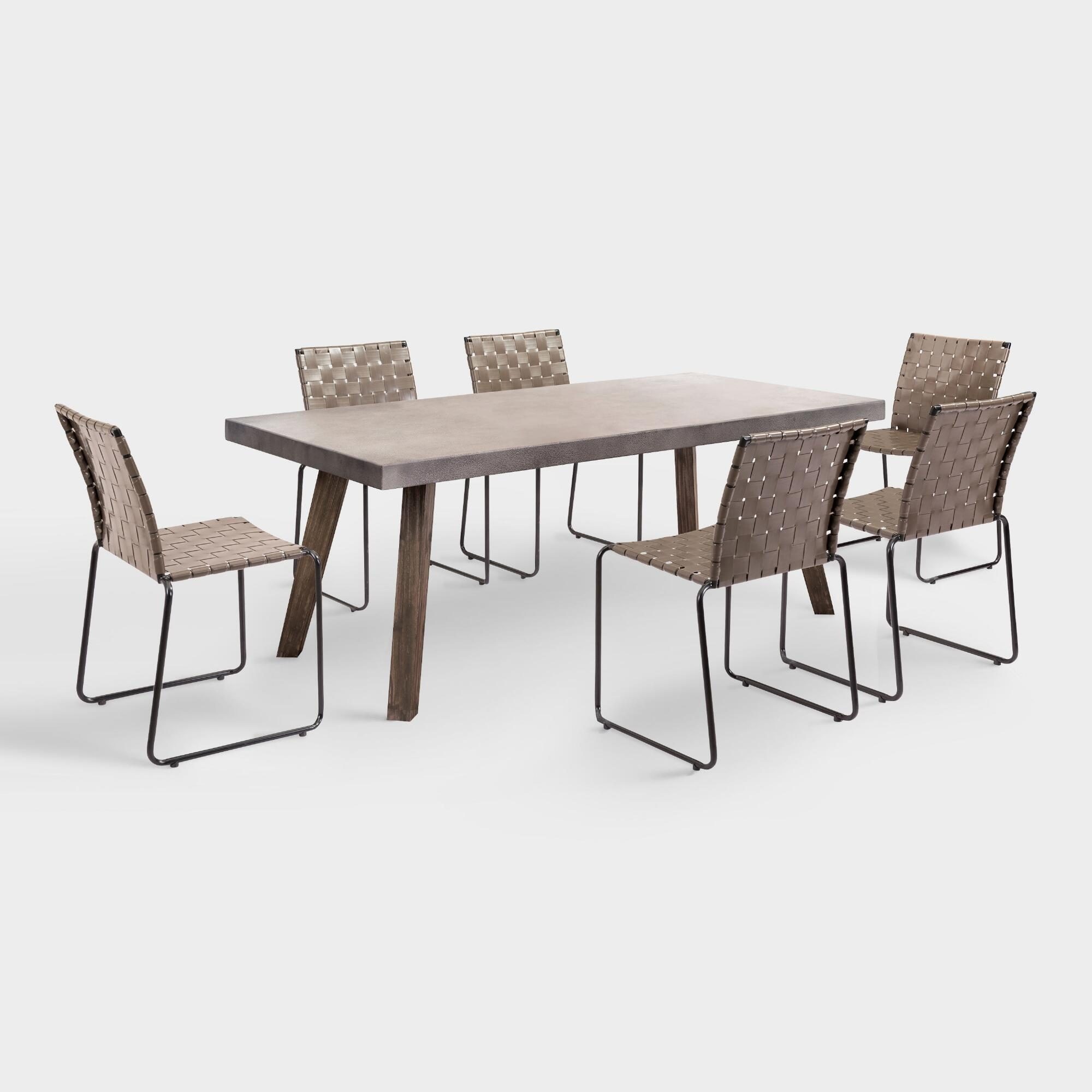 Armelle Outdoor Patio Dining Collection by World Market