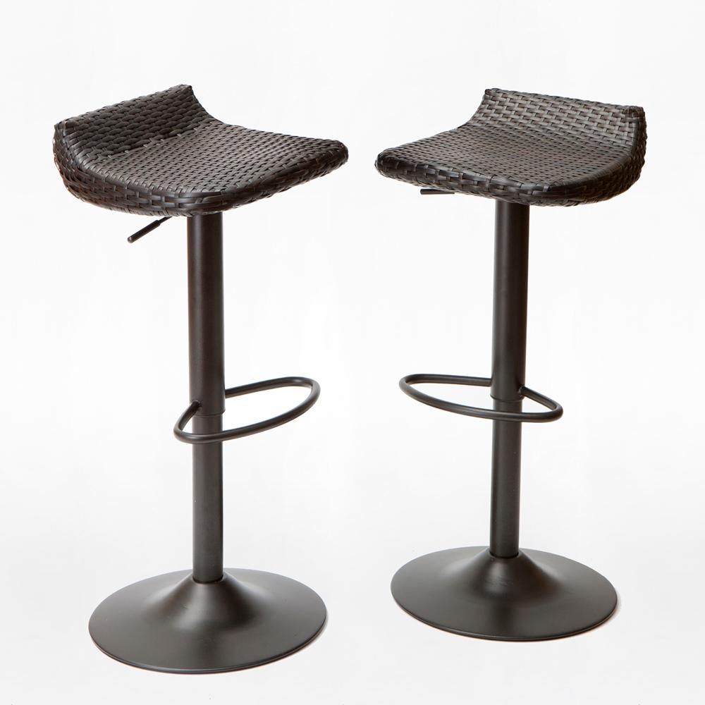 Deco™ Woven Outdoor Barstool Set