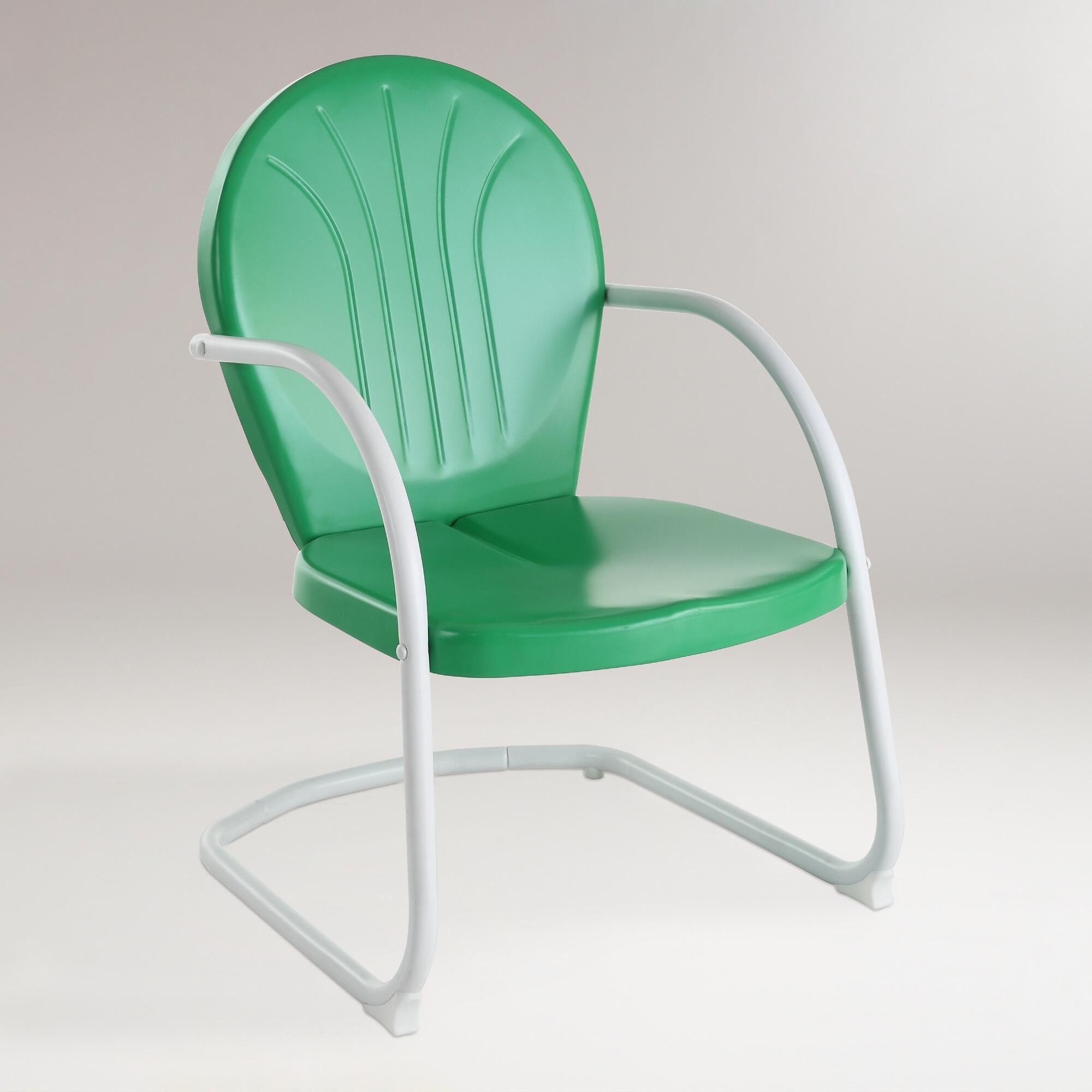 Green Durresi Metal Chair by World Market