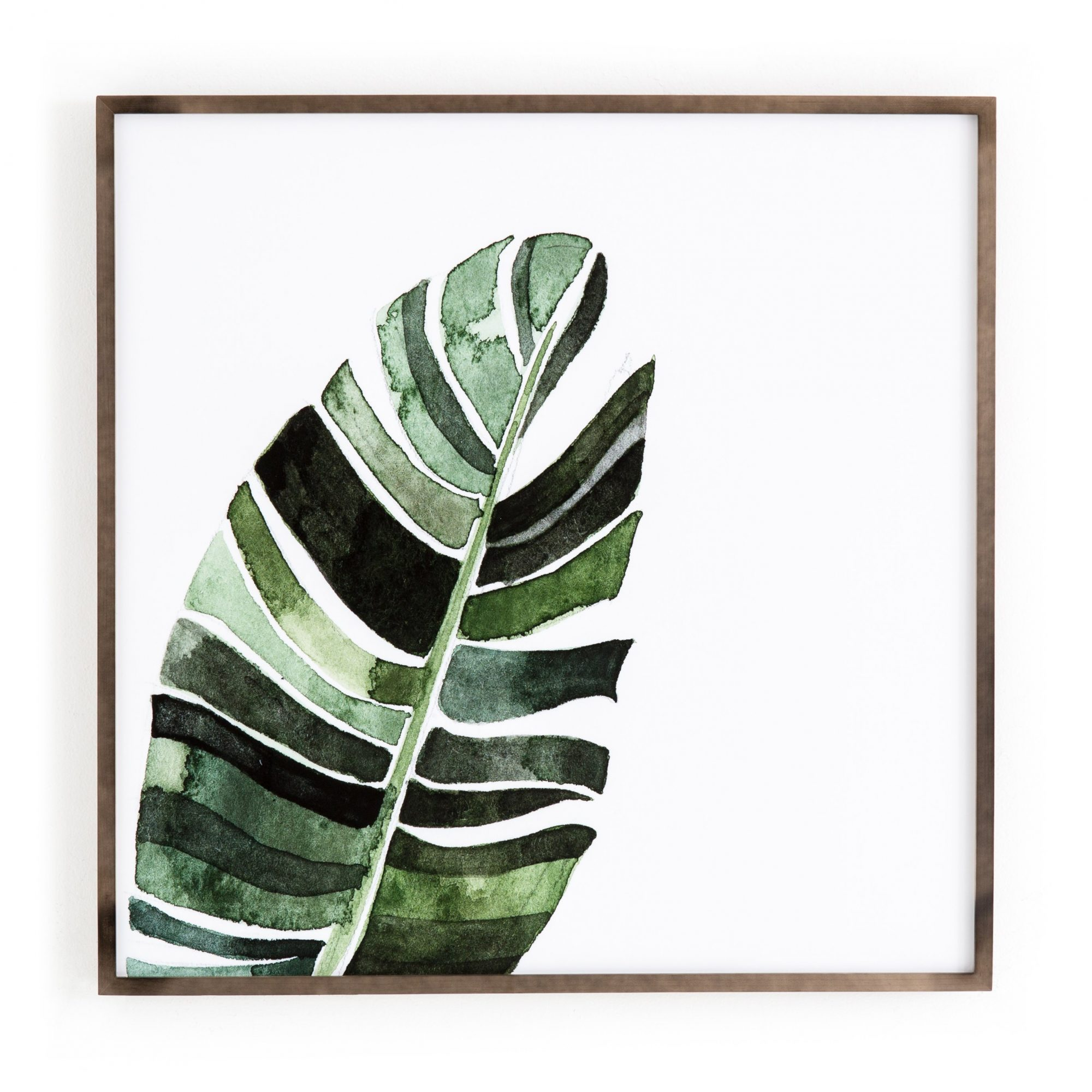 Banana Leaf by Jess Engle Wall Art design by BD Studio