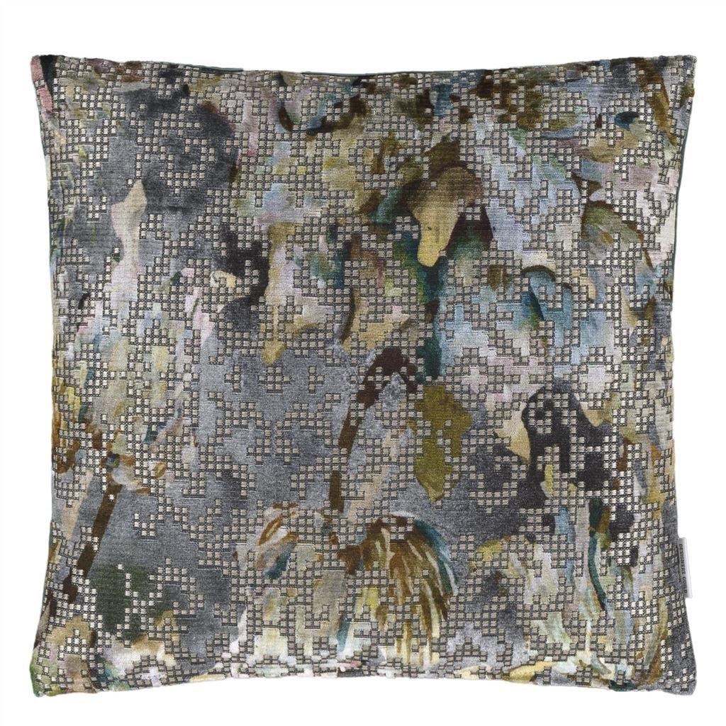 Bardiglio Zinc Pillow design by Designers Guild