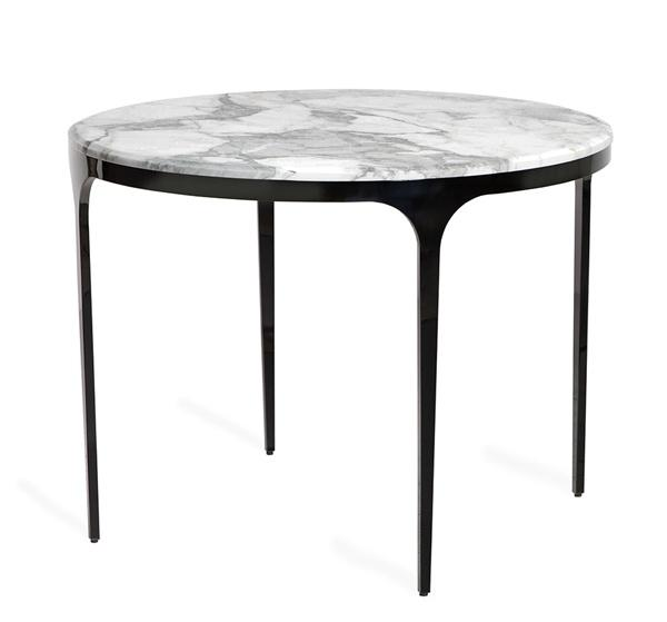 Camilla Center/ Dining Table - Arabescat design by Interlude Home