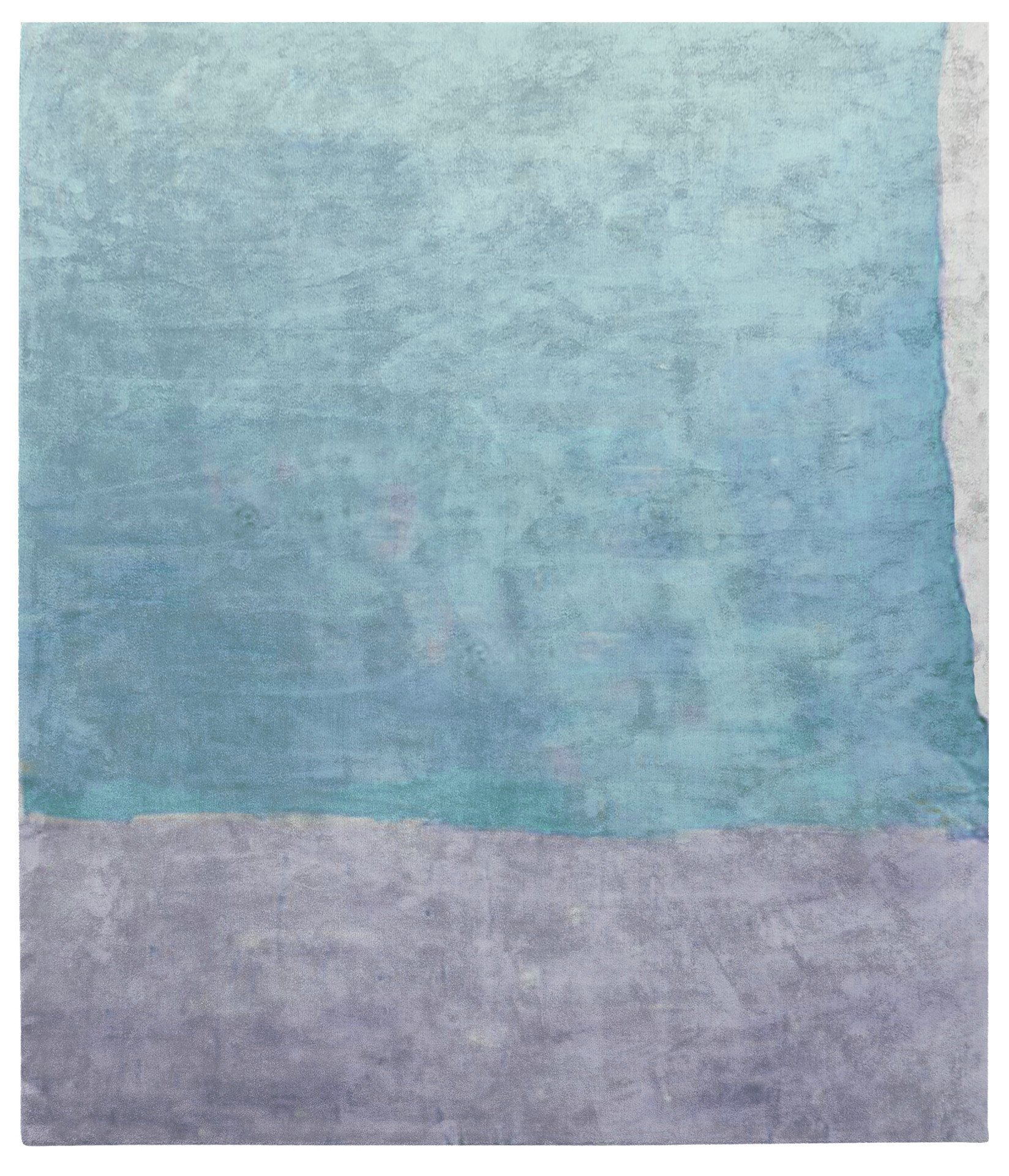 Cozzo Di Naro Hand Tufted Rug in Light Blue design by Second Studio
