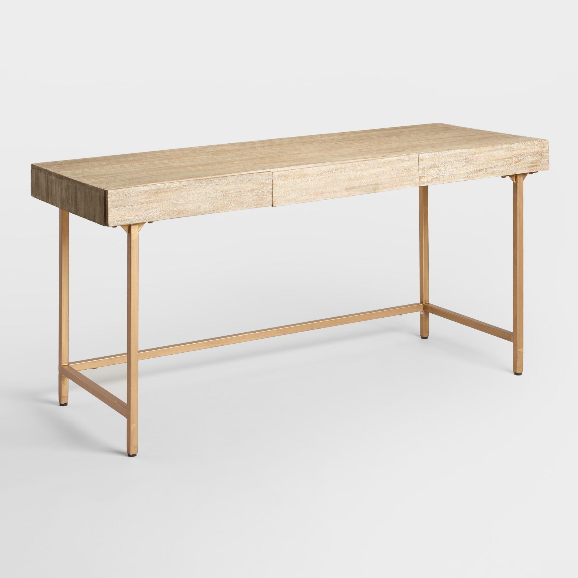 Driftwood Cristela Desk: Natural by World Market