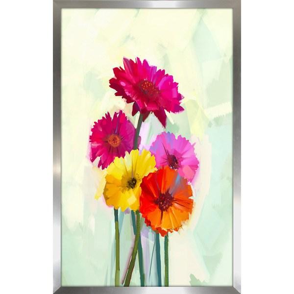 u201cFloral Frenzy 2u201d Framed Plexiglass Wall Art; u201c ...  sc 1 st  Homebop & Floral Frenzy 2