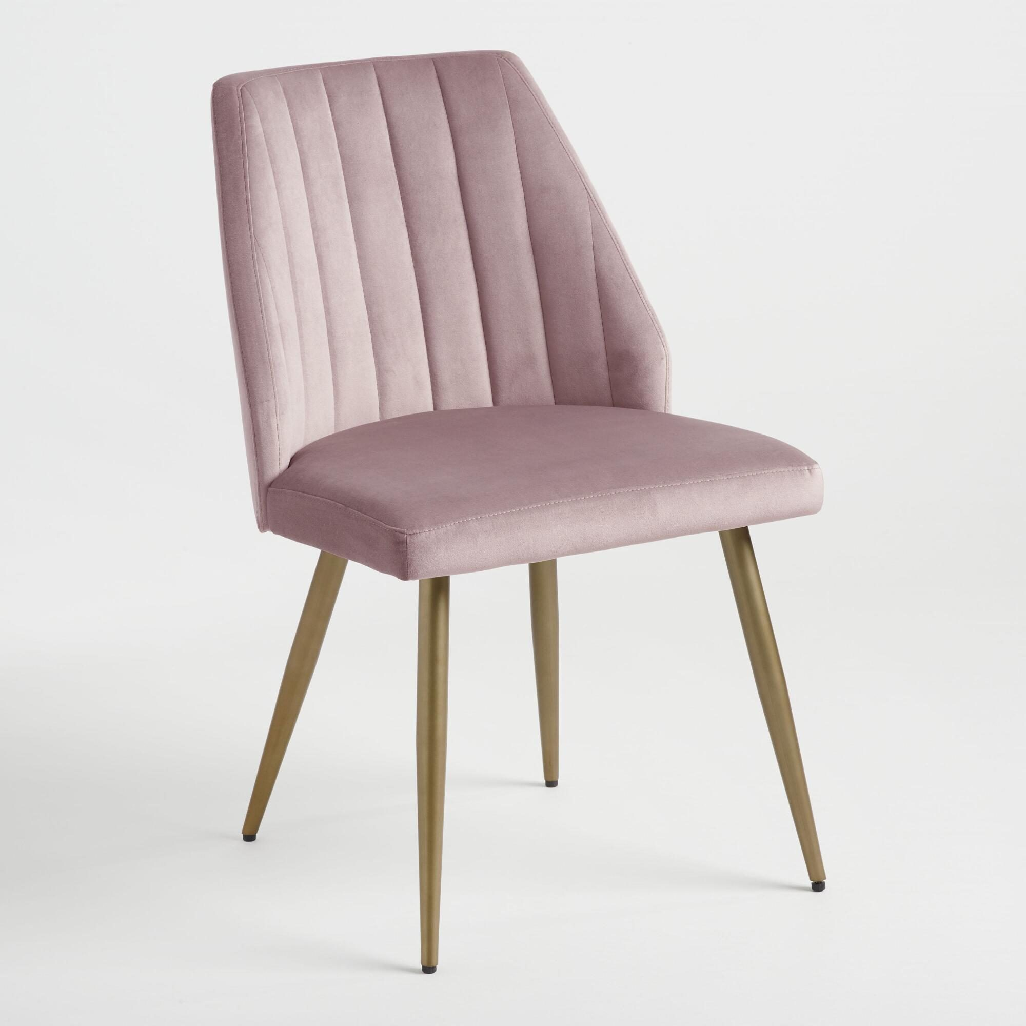 Mauve Pink Leilani Dining Chairs Set Of 2 by World Market