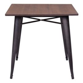 Zuo Titus Dining Table in Rustic Brown